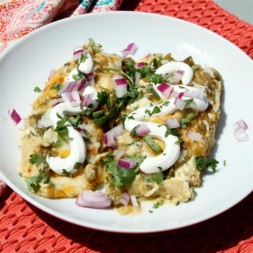 Creamy Chicken Enchiladas from Reynolds Wrap® Jennifer Aleman