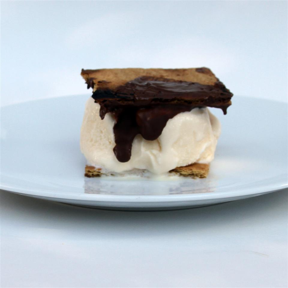 Grilled S'mores Ice Cream Sandwiches Jennifer Aleman