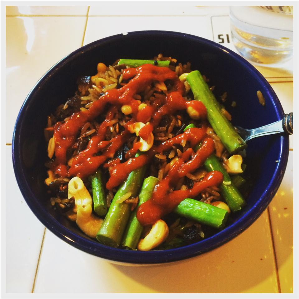 Asparagus Cashew Rice Pilaf Danny Edgel