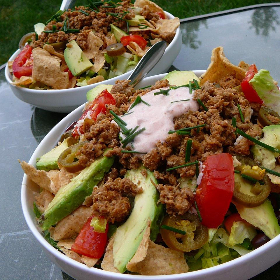 Quick Turkey Taco Salad Chris Heins