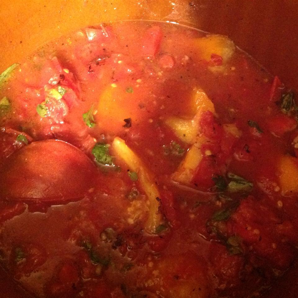 Sweet Basil Tomato Sauce Christine Norman
