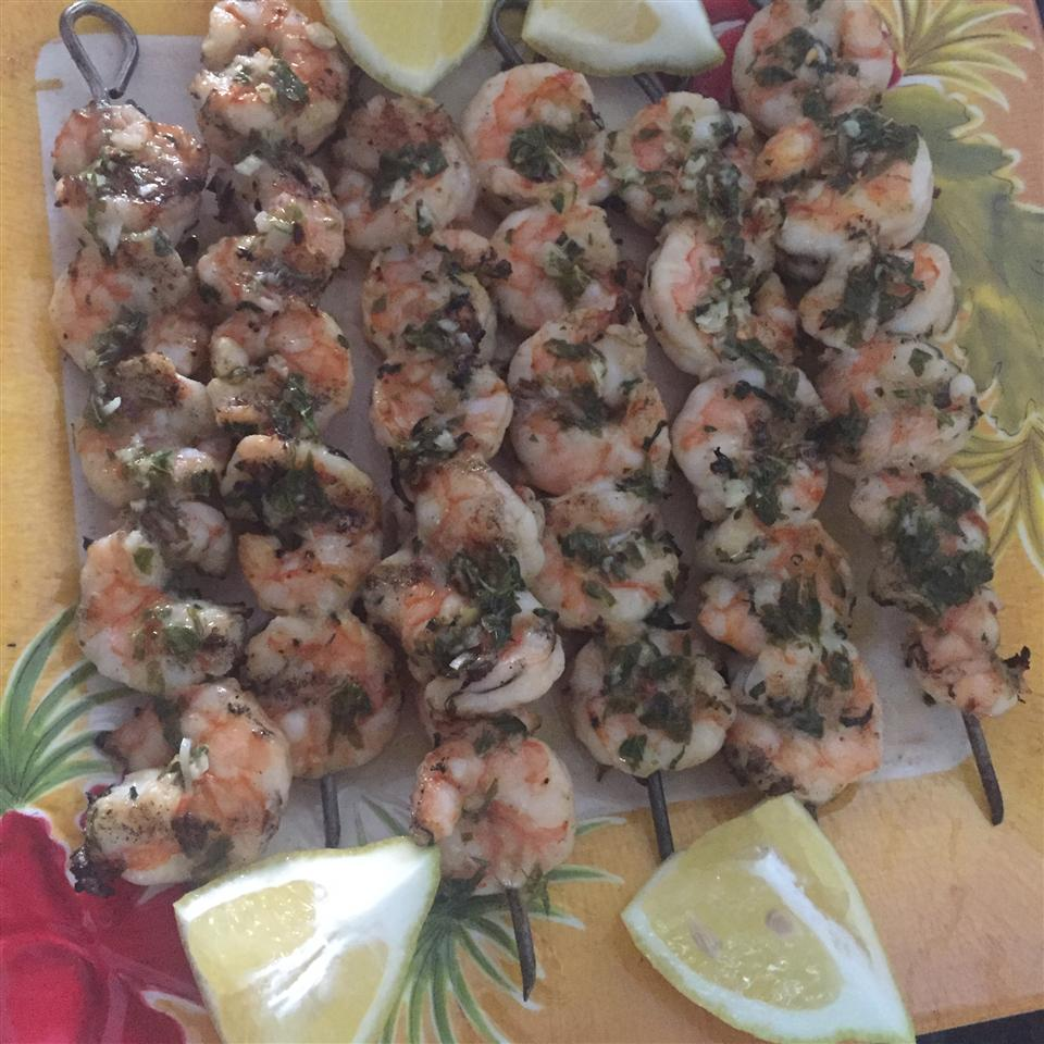 Chef John's Grilled Garlic and Herb Shrimp