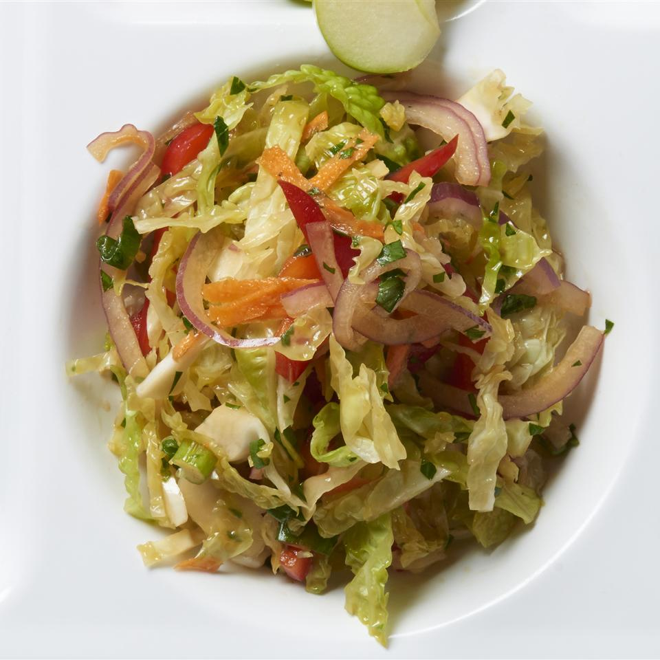 Easy Asian Cole Slaw