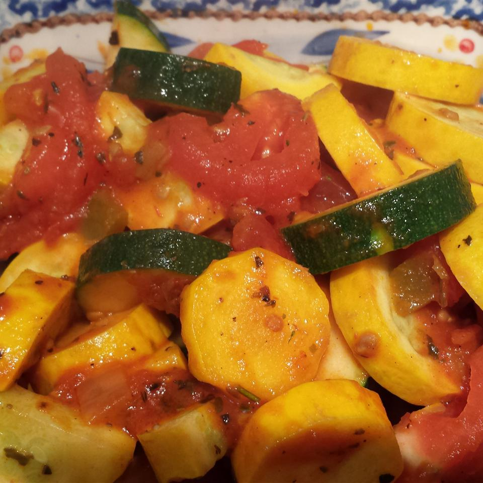 Tomato and Zucchini Melange debbie eckstein