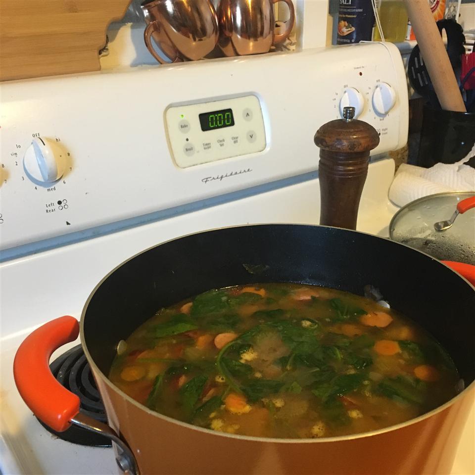 Bratwurst Soup Alison Bull