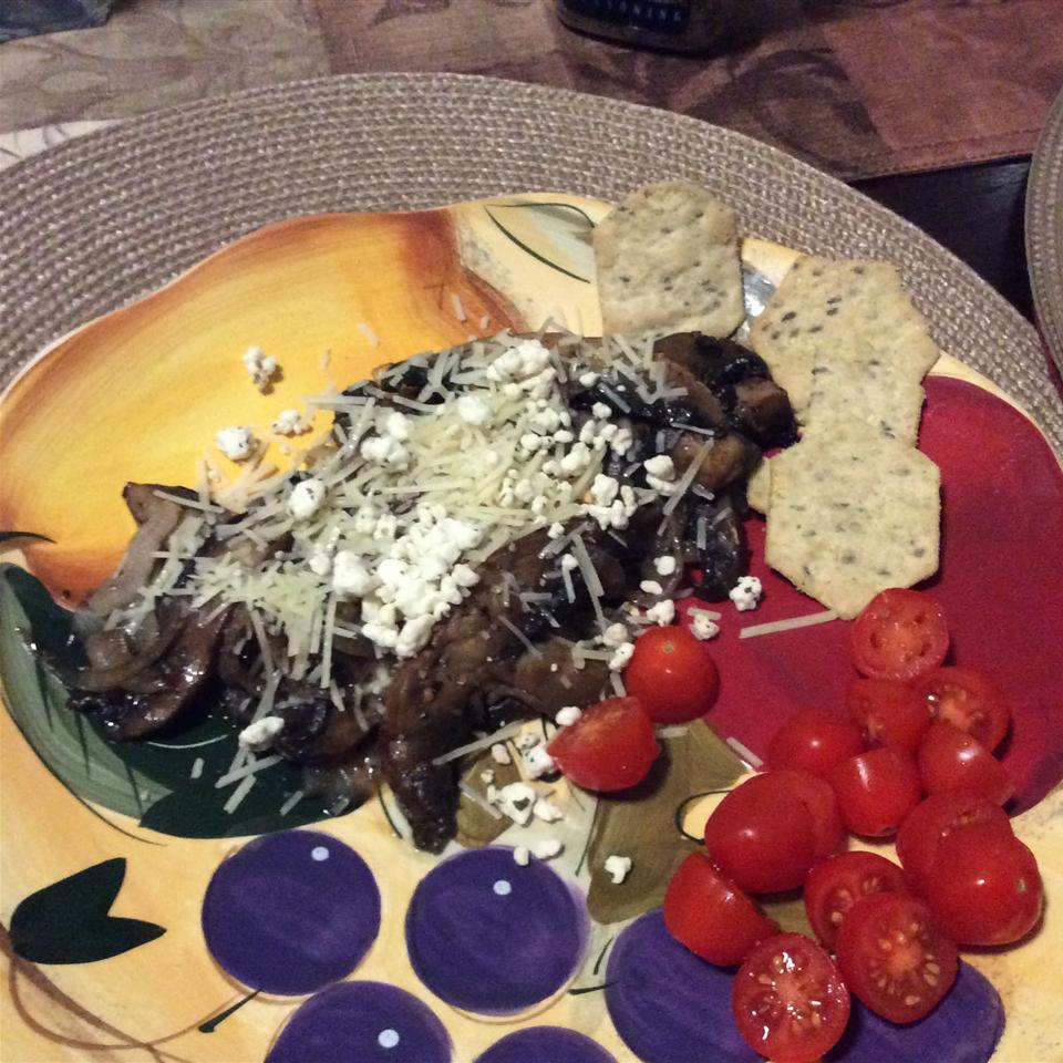 Easy Portobello Mushroom Saute VictorB