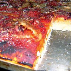 Sfincione Siciliano Pizza