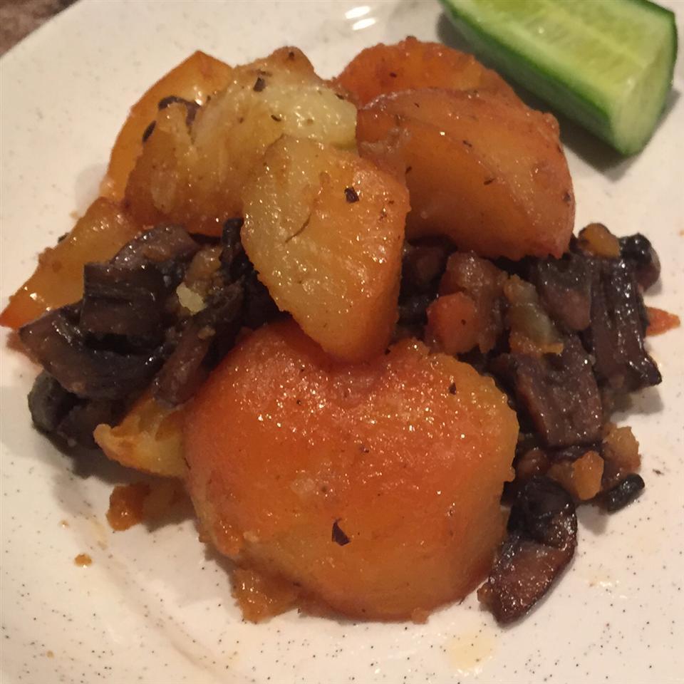 Roasted Wild Mushrooms and Potatoes