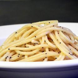 Poppy Seed Spaghettini