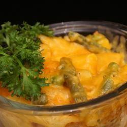 Cheddar and Vegetable Pasta Bake Melissa Goff