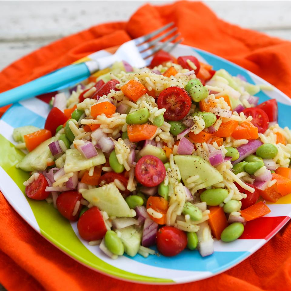 Rice and Veggie Salad with Knorr® Sides