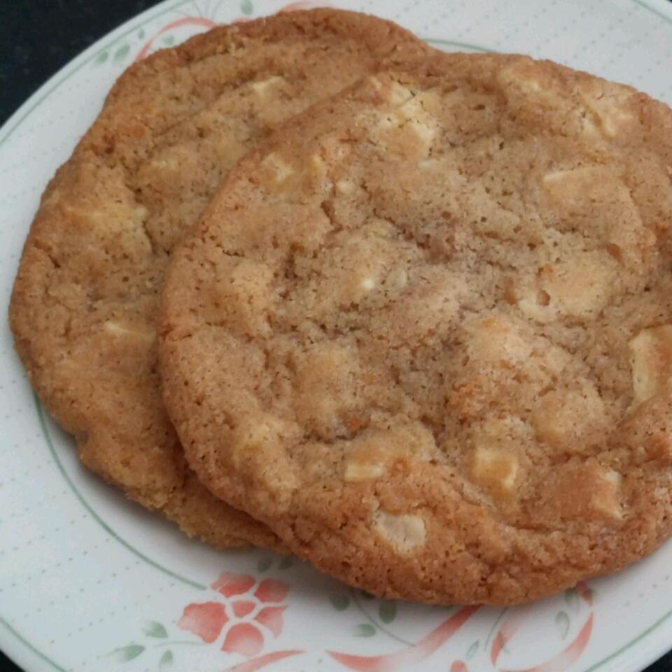 Cinnamon White Chocolate Cookies lilu