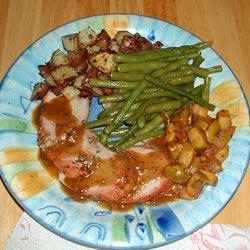Apple Rosemary Pork Tenderloin WATTYZ