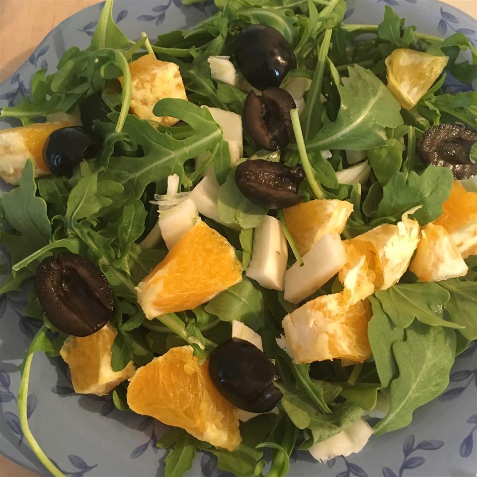 Arugula, Fennel, and Orange Salad