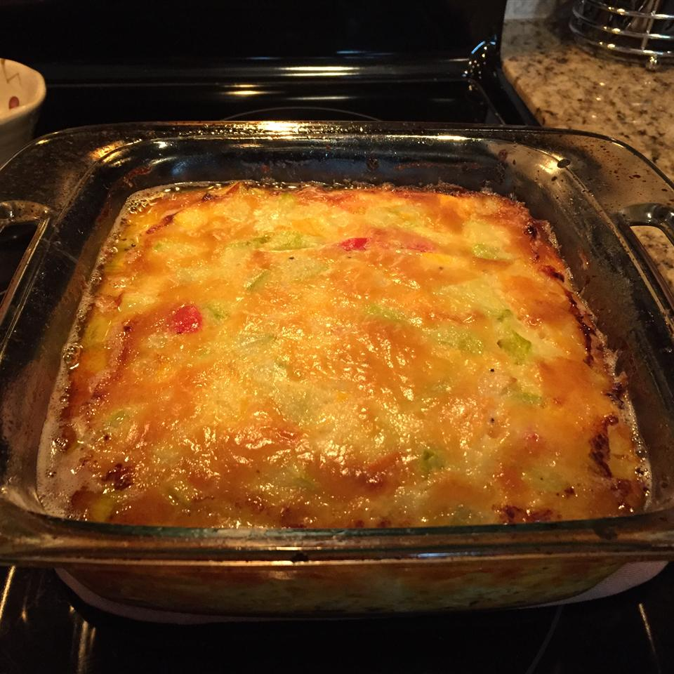 Squash, Egg, and Cheese Casserole Joe