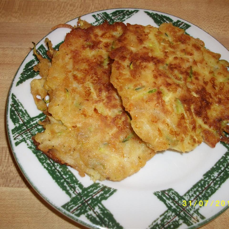 Zucchini Patty Pancakes suth3rng1rl