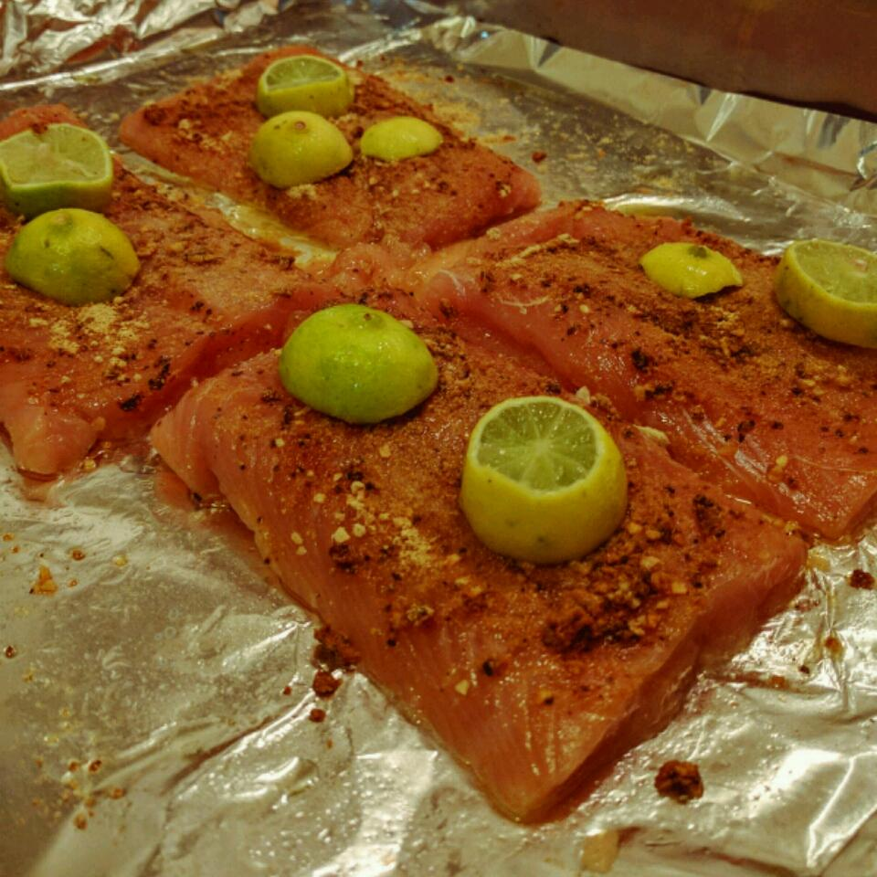 Ginger and Lime Salmon Joey Andres