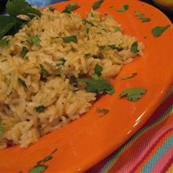 Orange Cilantro Rice Saveur