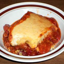 Chili Cheese Dog Pot Pie
