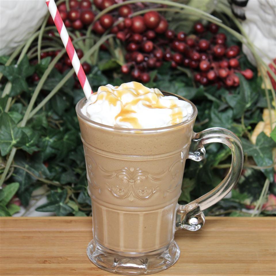 Chocolate Peanut Butter Iced Coffee