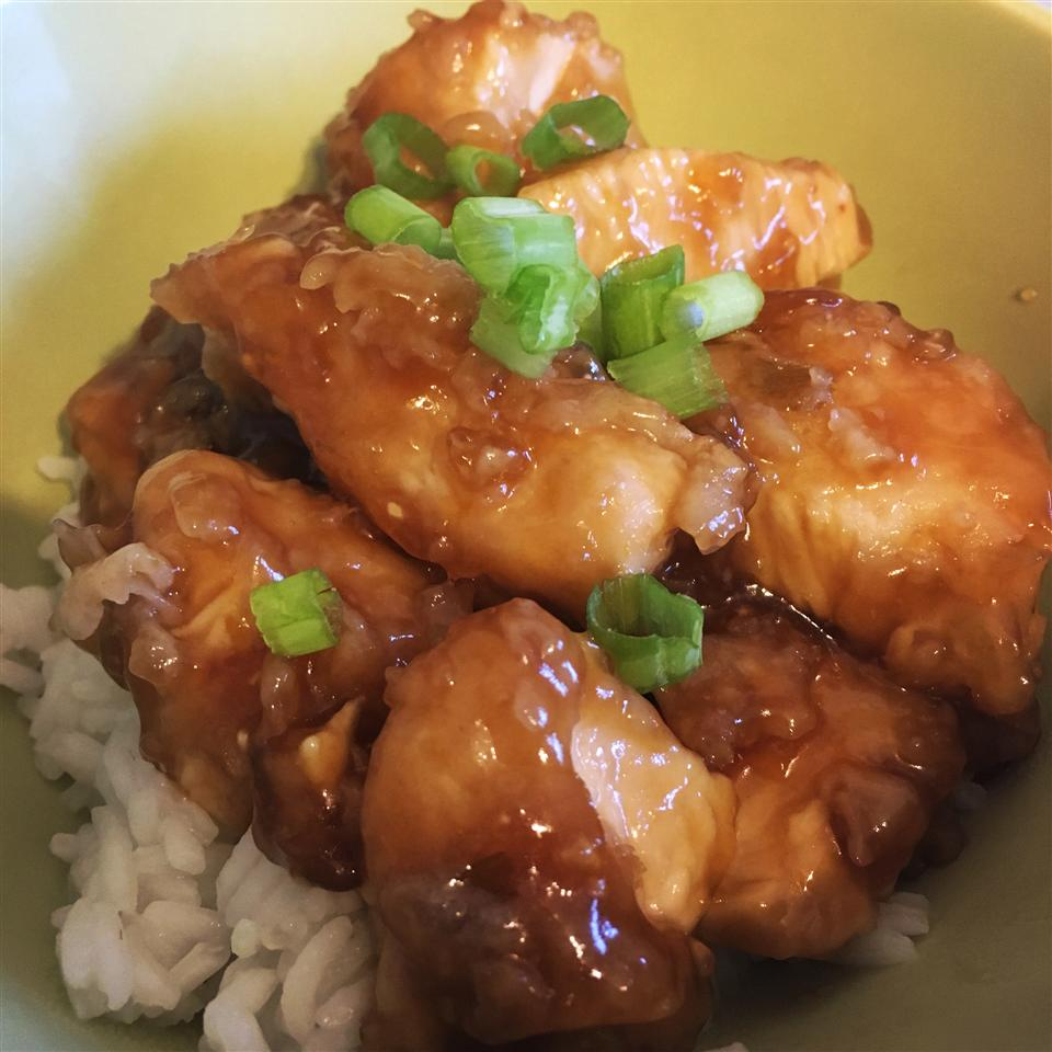 Asian Orange Chicken Meghan