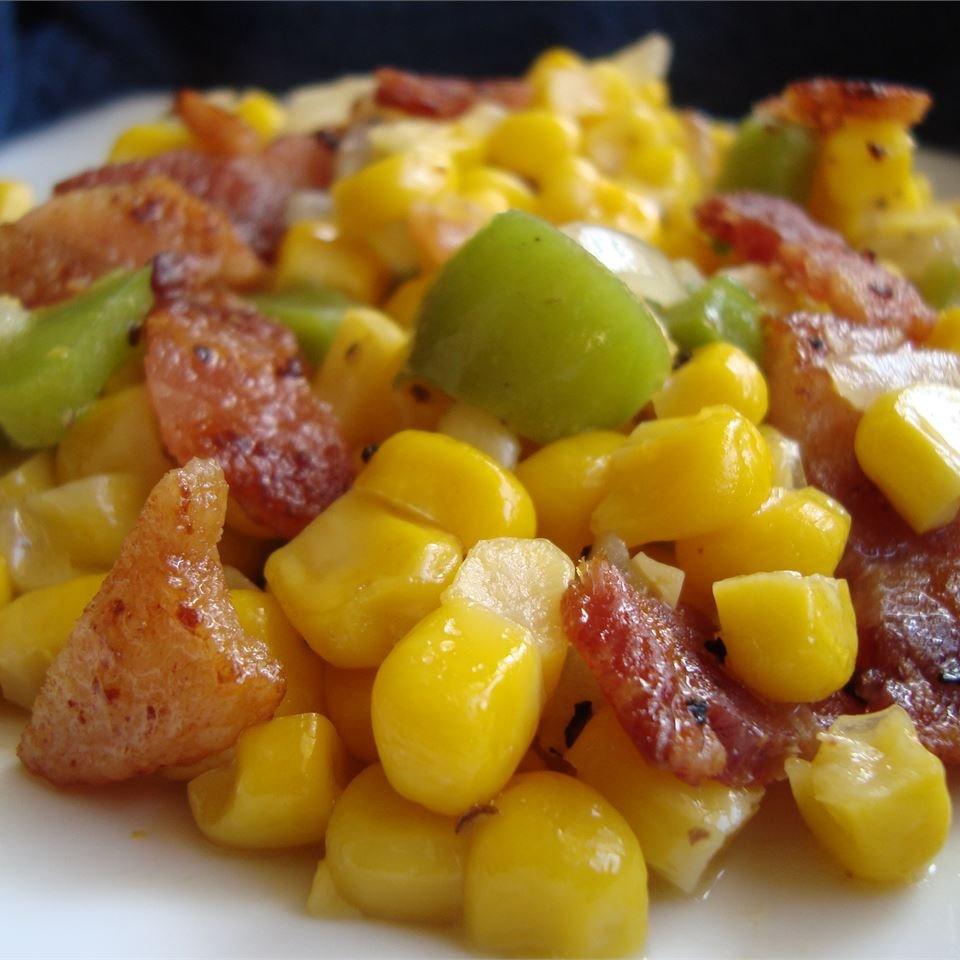 Skillet Fried Corn Michele O'Sullivan