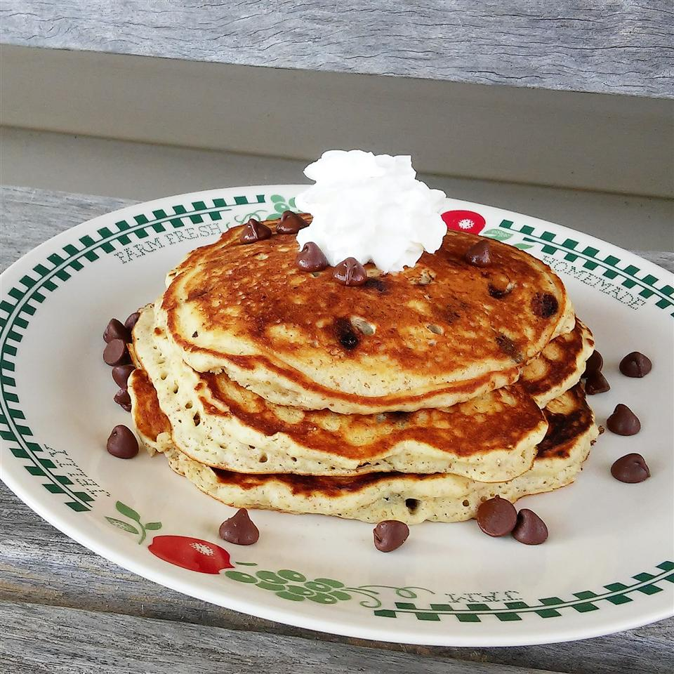 Lighter Chocolate Chip Pancakes Tammy Lynn