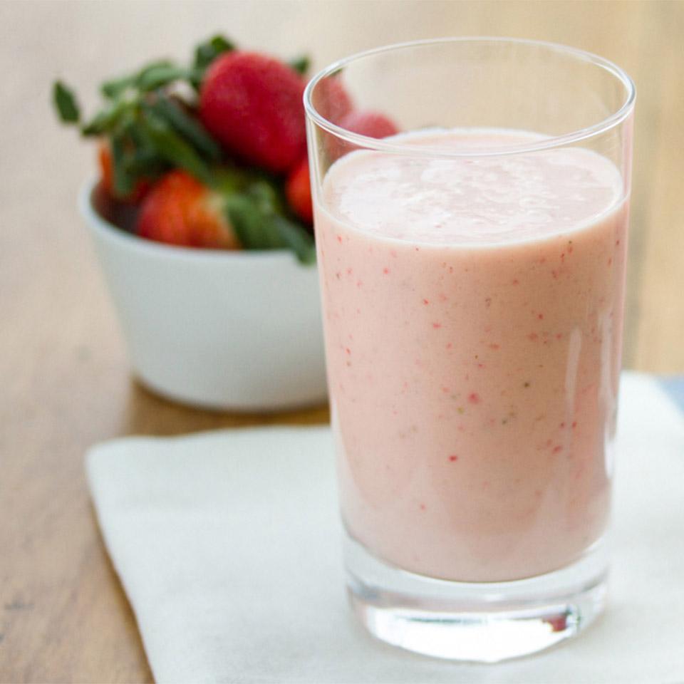 Strawberry-Orange Creme Smoothies