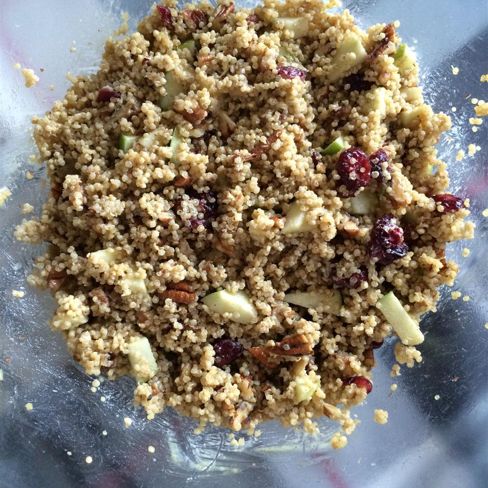 Cranberry Apple Pecan Quinoa Salad