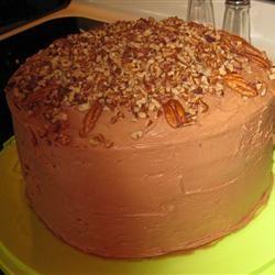 Chocolate Italian Cream Cake