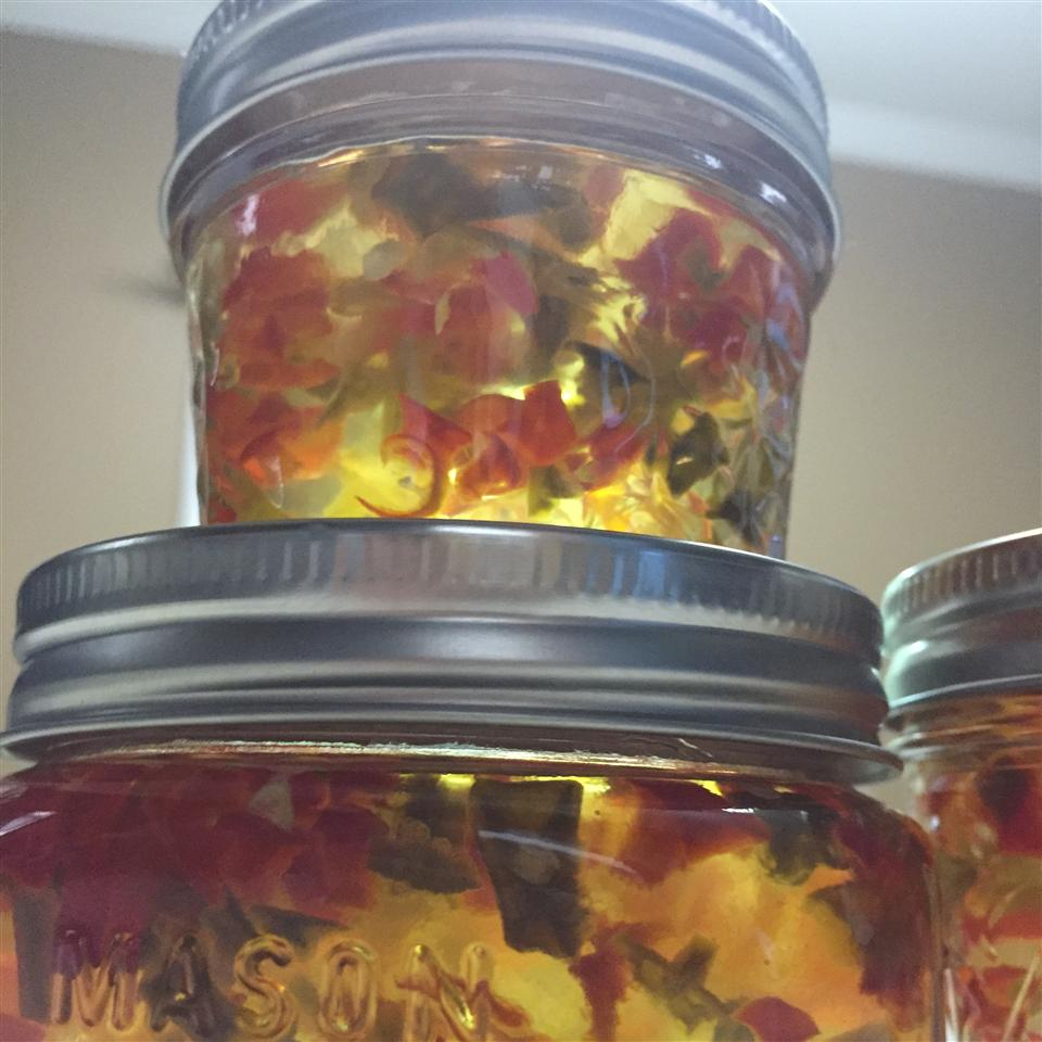 Red and Green Christmas Jalapeno Jelly Marie from Jasper