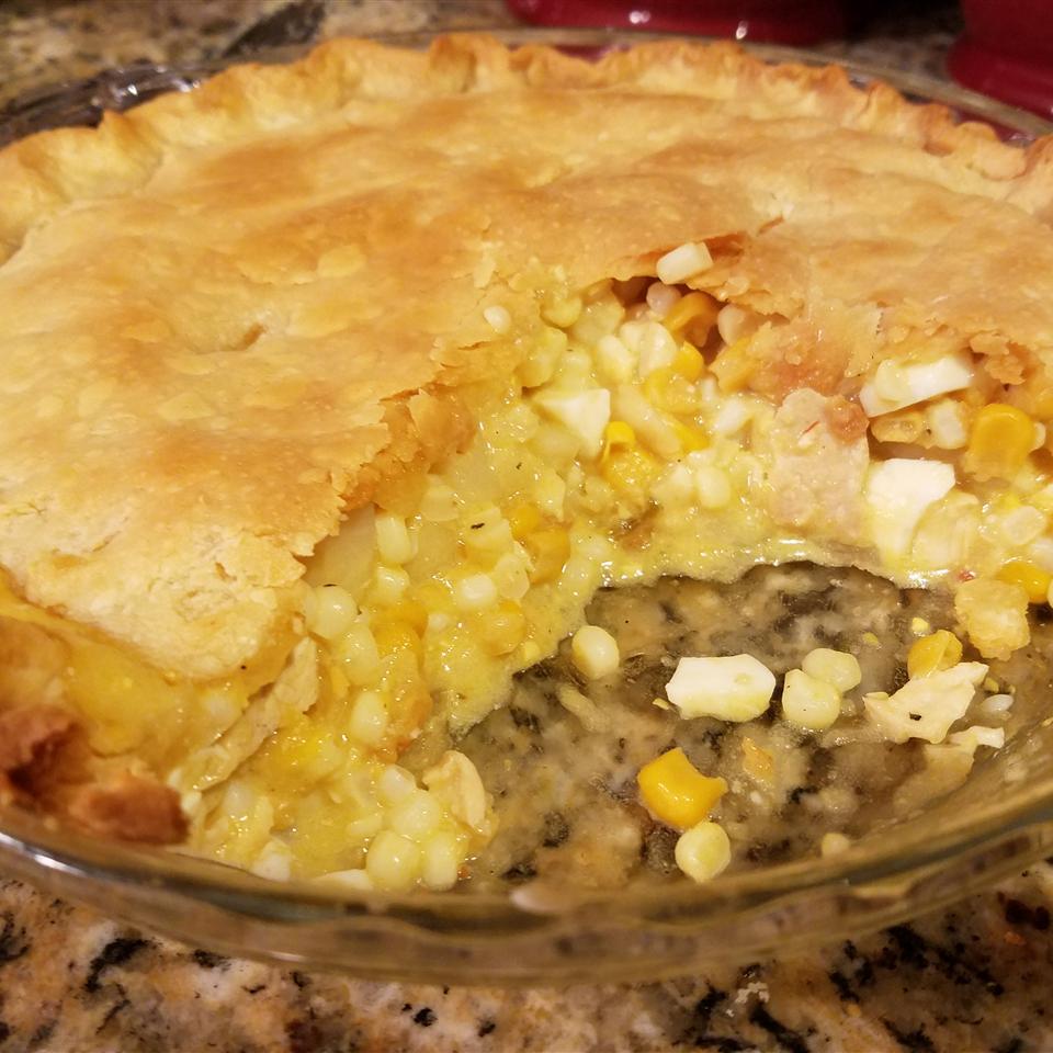 Pennsylvania Dutch Corn Pie