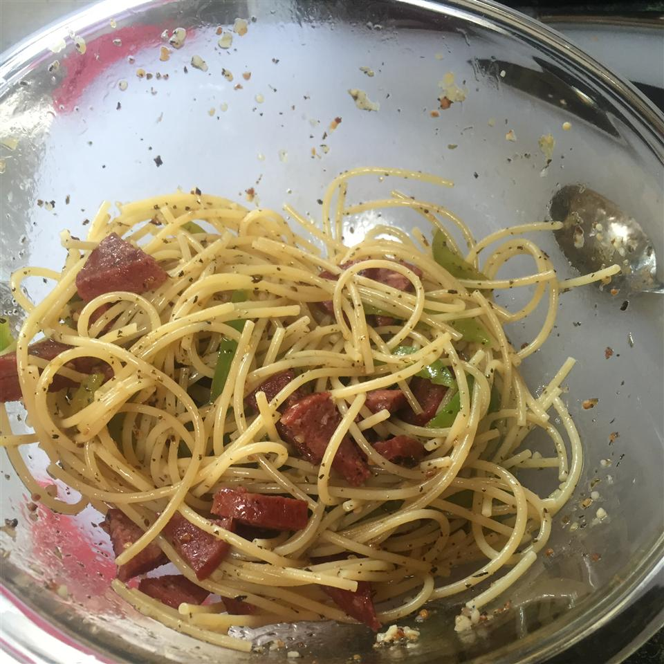 Mama Corleone's Sausage and Peppers spange