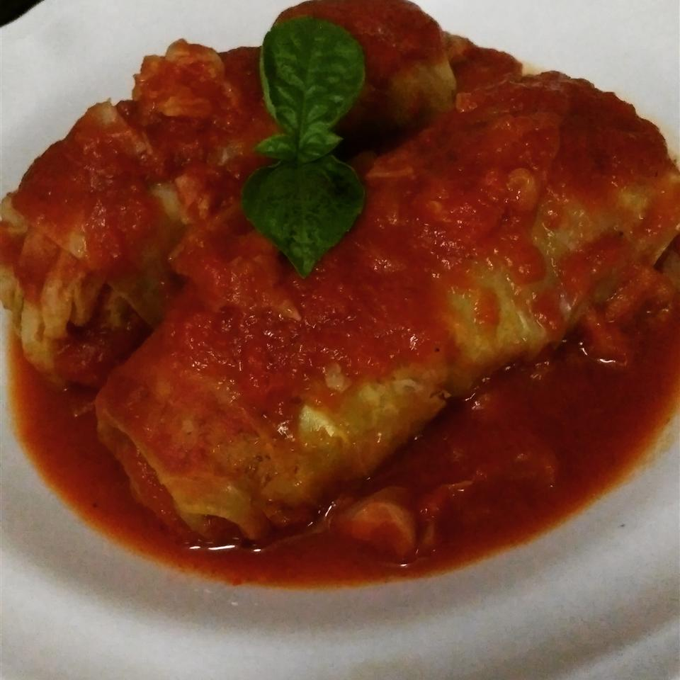 Lamb and Rice Stuffed Cabbage Rolls Tara Low