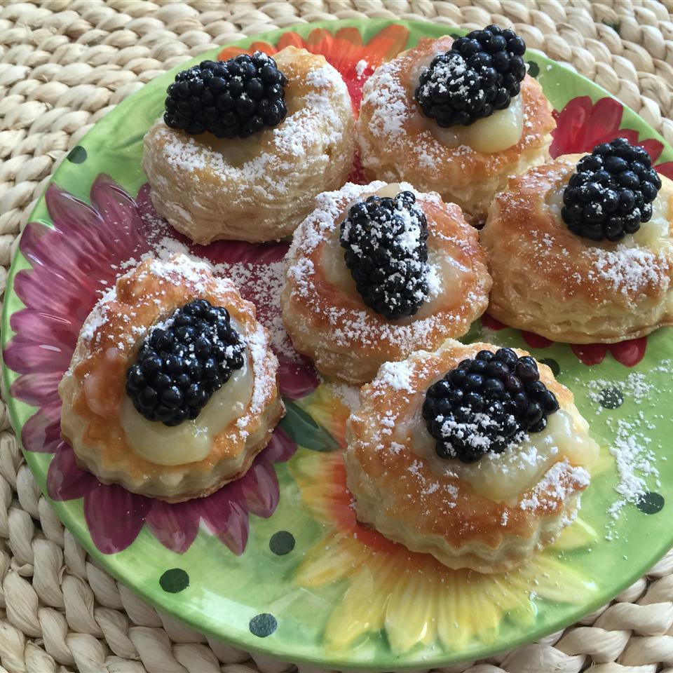 Lemon Berry Tartlets