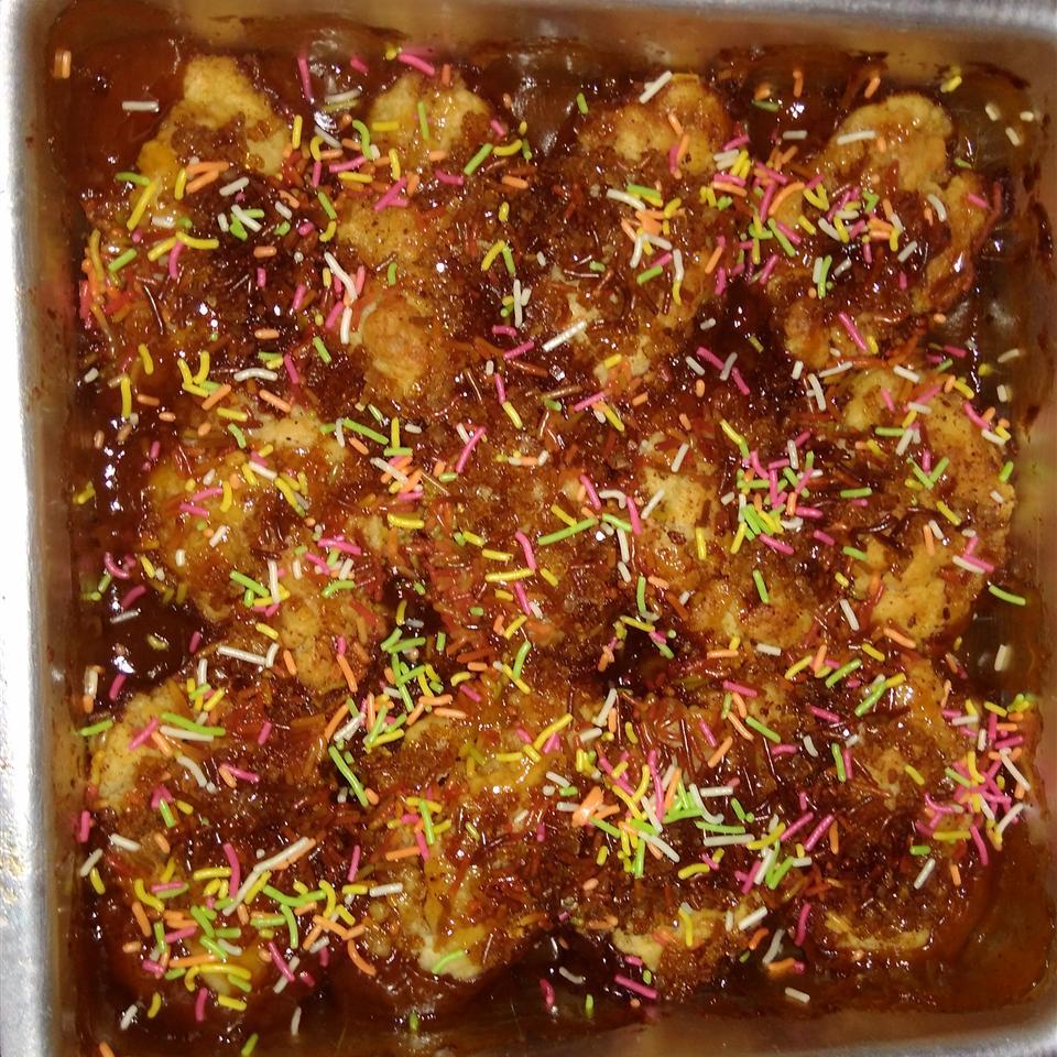 Butterscotch Apple Dumplings Gayatri