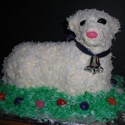 Easter Lamb Cake II mjocarlson