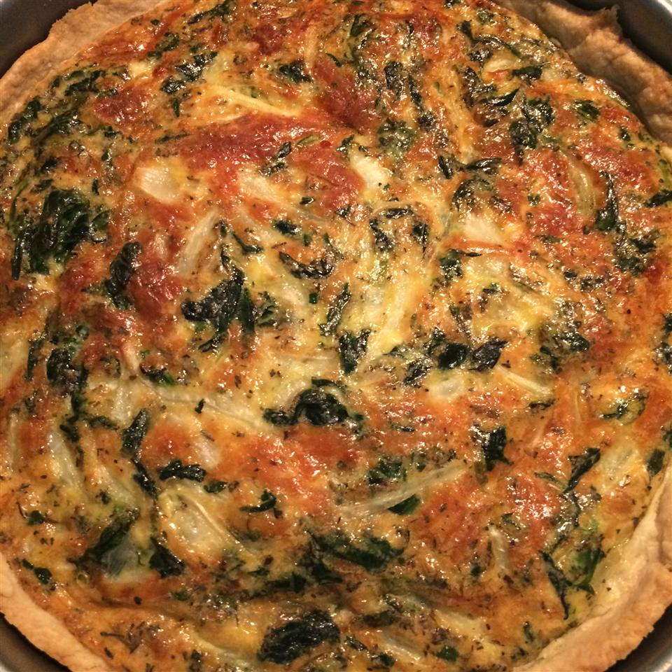 Spinach Quiche with Kid Appeal Ali