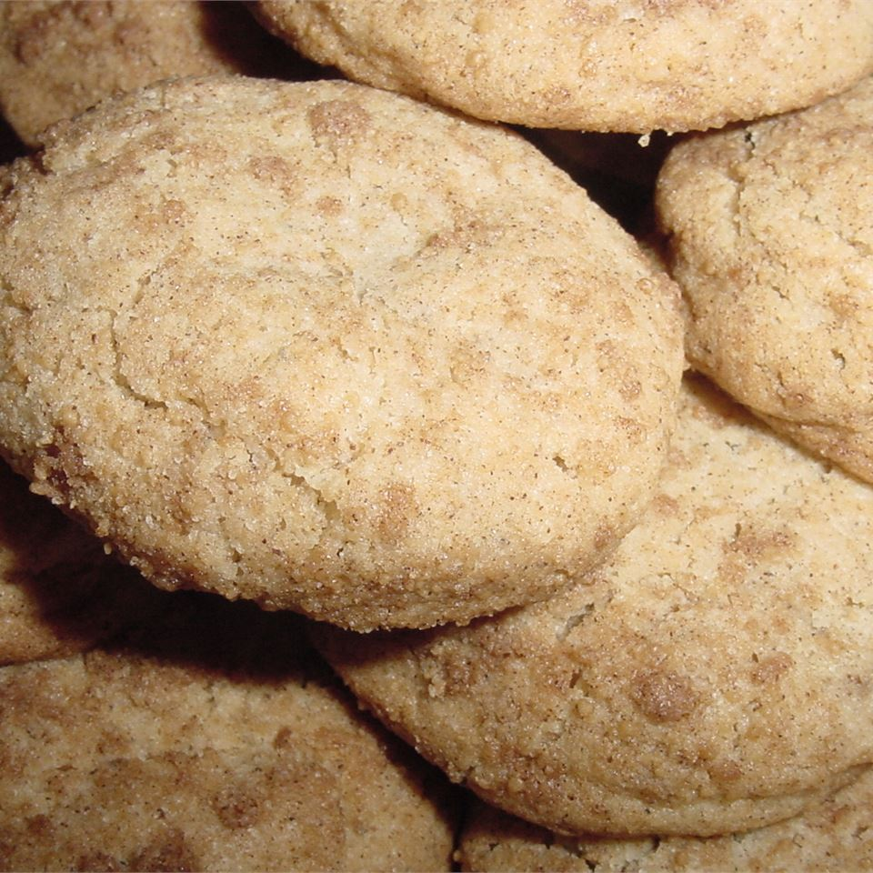 Lauren's Sugar and Spice Black Pepper Cookies DIANNE DELL