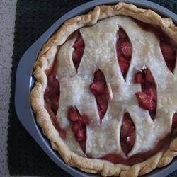 Strawberry-Mango Pie