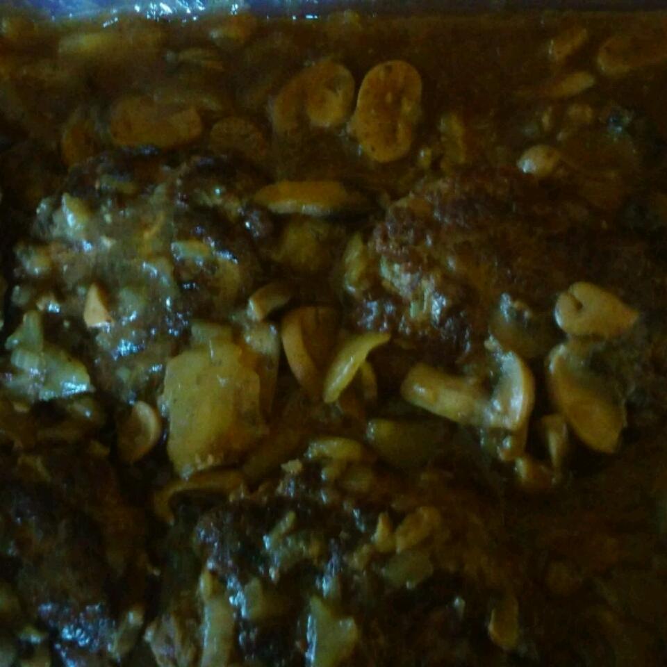 Salisbury Steak with Mushrooms
