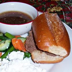 Easiest Slow Cooker French Dip Robin E.