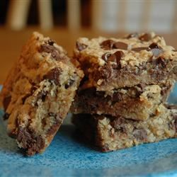 Bake Sale Chocolate Chip Oatmeal Brownies