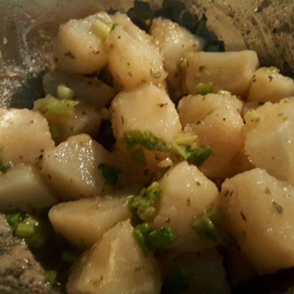 Light and Easy Greek Potato Salad Anabel Martes