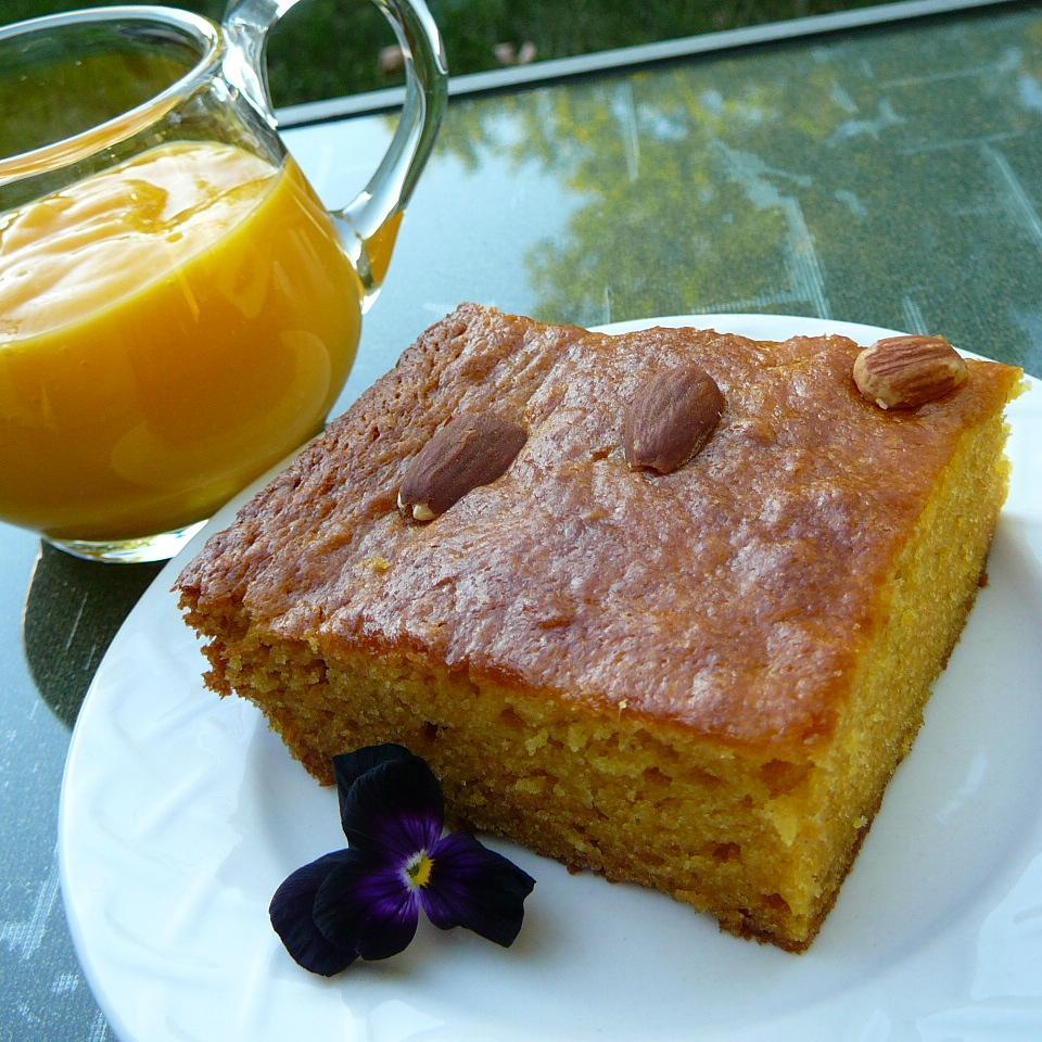 Delightfully Exotic Mango Cake LIV6