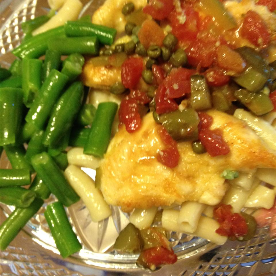 Quick and Easy Chicken Piquant