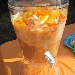 orange dream punch recipe
