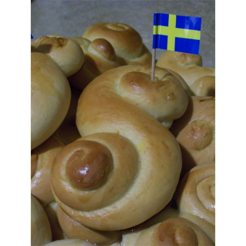 Swedish Saffron Buns
