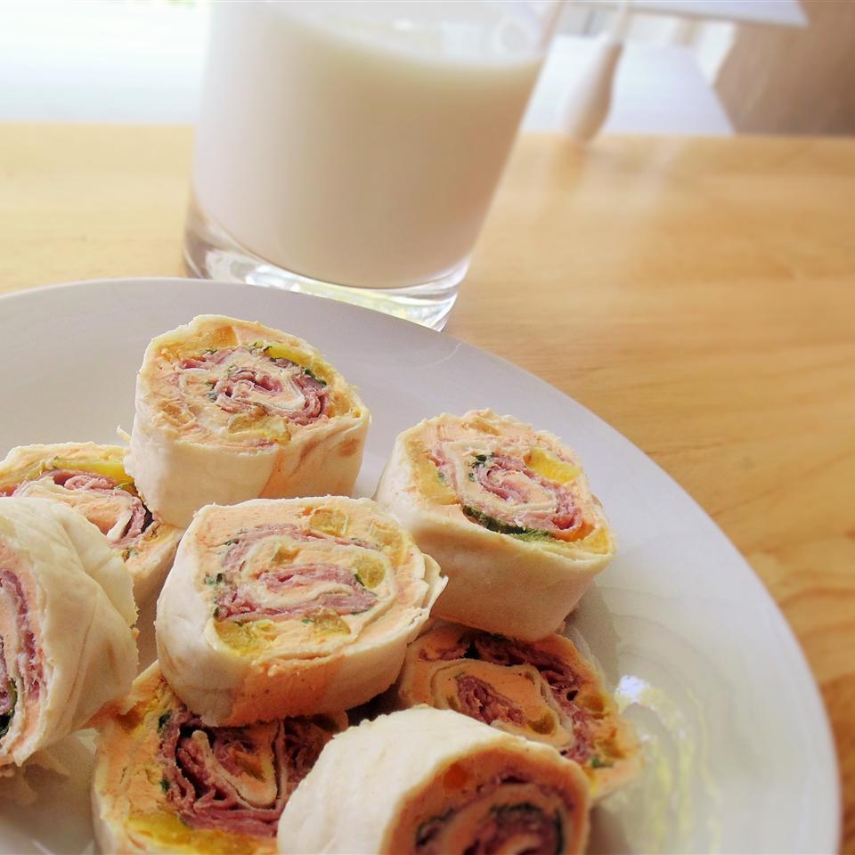 After School Antipasto Pinwheel Sandwiches Christina
