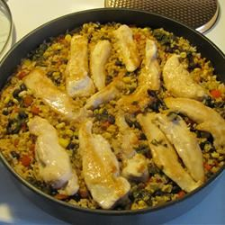 Cilantro Chicken and Rice loosechange222